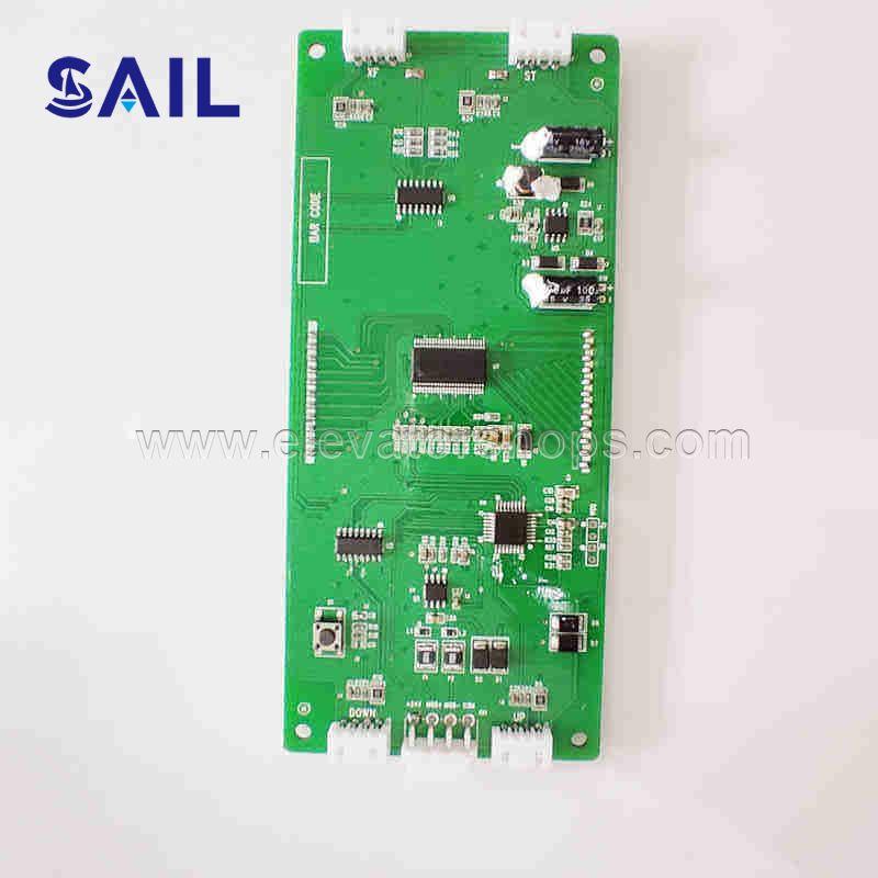 Monarch Display Board MCTC-HCB-D1, SJEC program