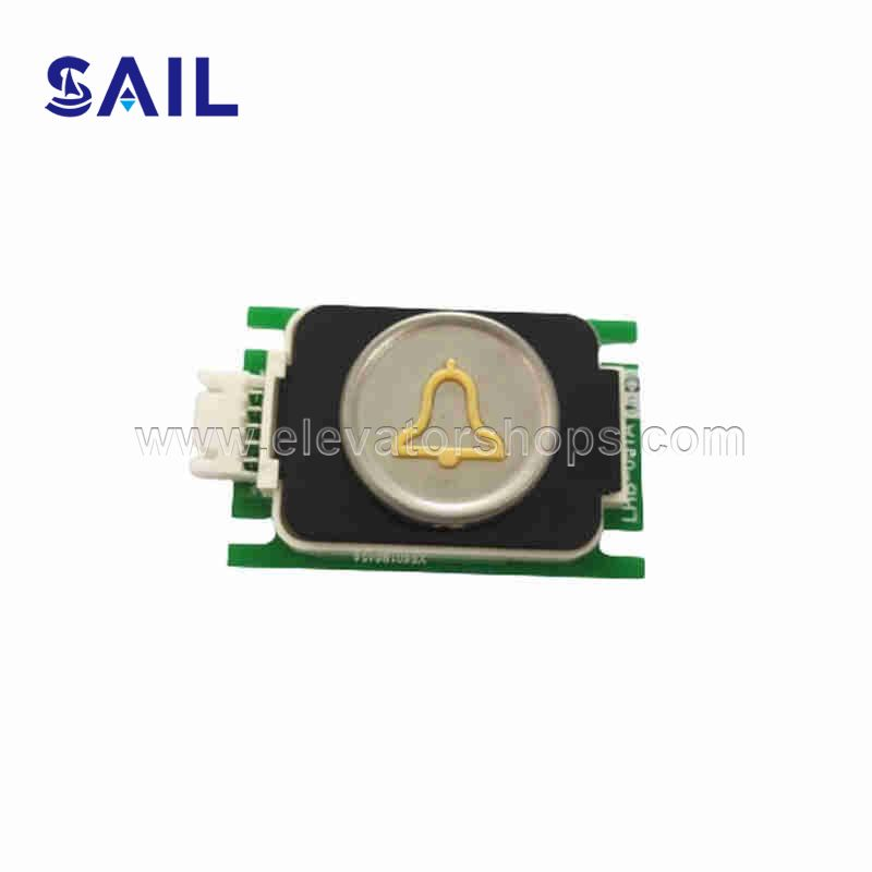 Mitsubishi Elevator Push Button Board with Stainless Steel Letter LHB-051AG15